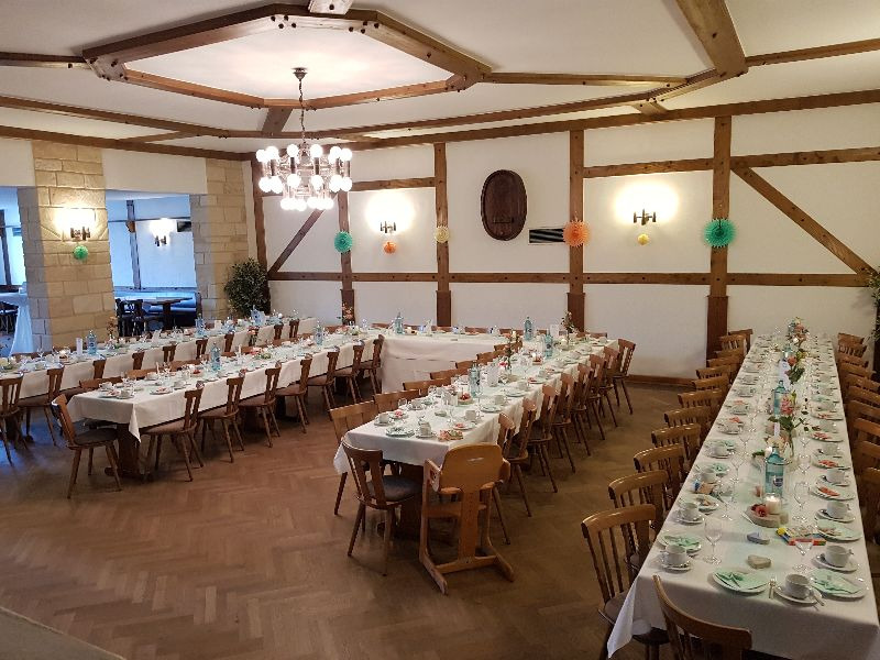 Gastwirtschaft Beck Hochzeit Ohne Hussen 1
